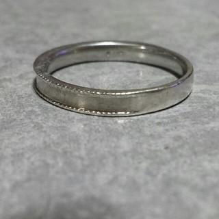 プラチナシルバーリング(リング(指輪))