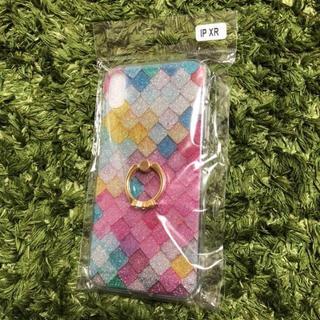 【美品】iPhoneXR ハードケース リング付き(iPhoneケース)