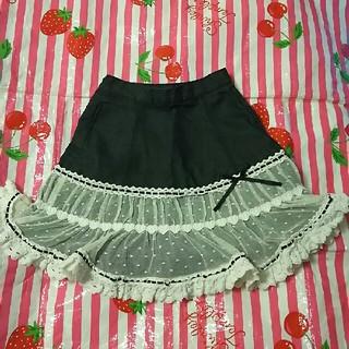 シャーリーテンプル(Shirley Temple)の売り切れ シャーリーテンプル ハートレースのスカート 110(スカート)