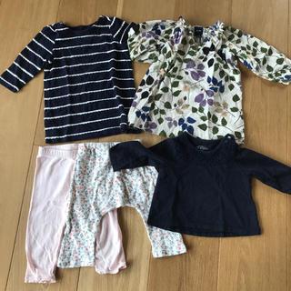 ベビーギャップ(babyGAP)の女の子服まとめ売り 70 baby gap 西松屋(シャツ/カットソー)
