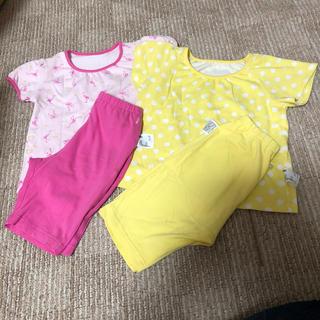ユニクロ(UNIQLO)のUNIQLO パジャマ 半袖短パン 2セット(パジャマ)