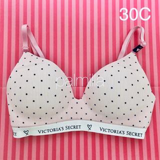 ヴィクトリアズシークレット(Victoria's Secret)の【新品】ヴィクトリアシークレット ワイヤレスブラ 30C (ブラ)