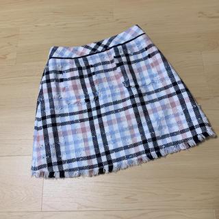 Rirandture - リランドチュール チェックツイードスカート