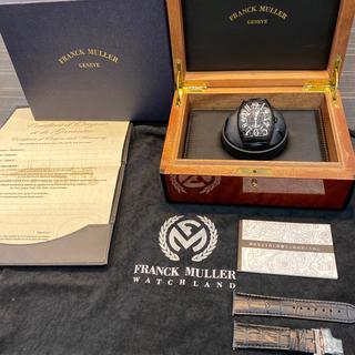 フランクミュラー(FRANCK MULLER)の新品同様 フランクミュラー ブラッククロコ 9880(腕時計(アナログ))