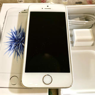 iPhone - iPhone SE Silver 64 GB SIMフリー