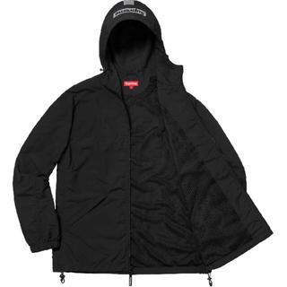 Supreme - Supreme 2-Tone zip up jacket black 箱ロゴ
