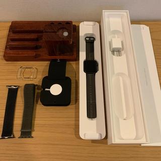 Apple Watch - Apple Watch series2 38mmスペースグレー