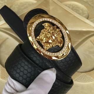 VERSACE -  Versace ヴェルサーチ  ベルト 美品 高品質 3.8cm