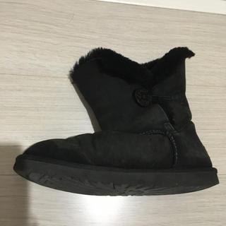 アグ(UGG)のugg  ブーツ ブラック 25(ブーツ)