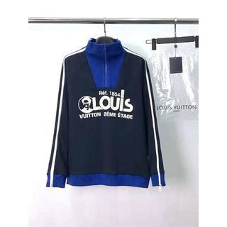 ルイヴィトン(LOUIS VUITTON)の人気【Louis Vuitton】LOUISプリンテッドマルチジップスウェット(パーカー)