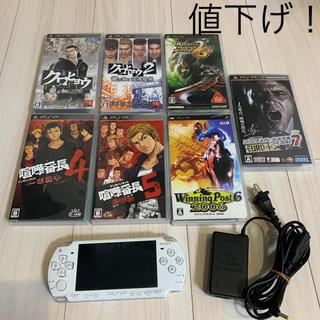 PlayStation Portable - プレイステーションポータブル PSP本体+ソフトのセット