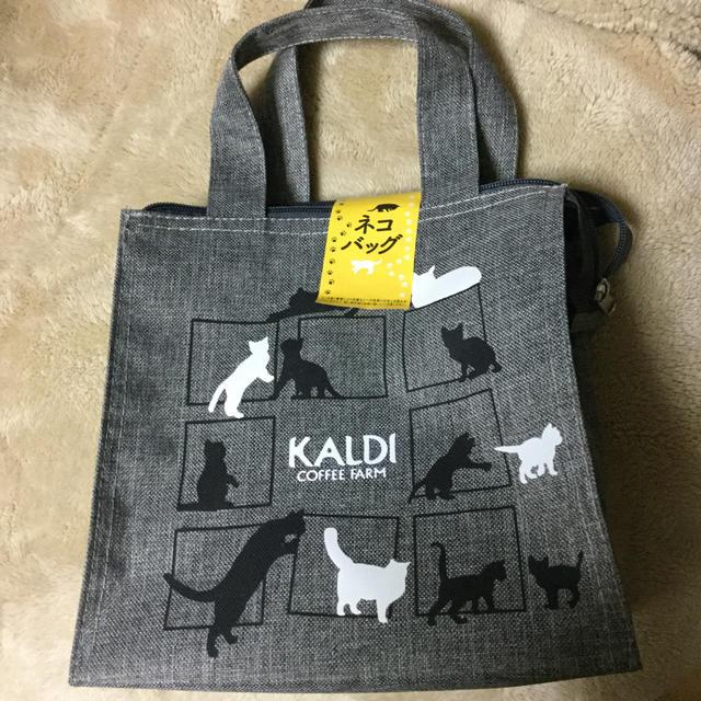 KALDI(カルディ)のカルディコーヒー ねこの日バッグ 食品/飲料/酒の飲料(コーヒー)の商品写真