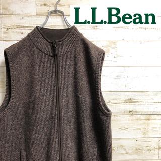 エルエルビーン(L.L.Bean)のLL.Bean エルエルビーン ニット ベスト(ベスト)