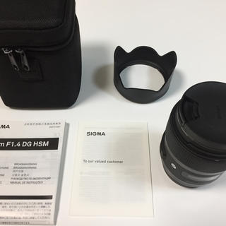 SIGMA - SIGMA 単焦点レンズ Art 35mm F1.4 DG HSM キヤノン用