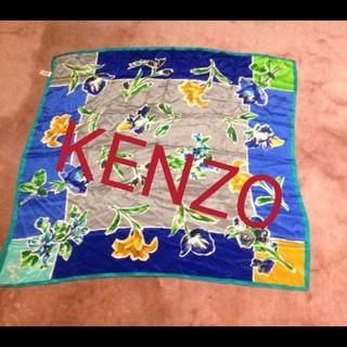 ケンゾー(KENZO)のKENZO大判スカーフ(バンダナ/スカーフ)