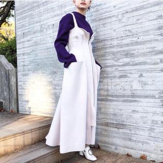 ルシェルブルー(LE CIEL BLEU)のIRENE  オーバーラップドレス  ワンピース  アイレネ(ロングワンピース/マキシワンピース)