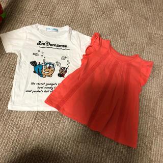 ユニクロ(UNIQLO)のキッズ 100 Tシャツ 2セット(Tシャツ/カットソー)
