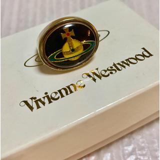 ヴィヴィアンウエストウッド(Vivienne Westwood)のヴィンテージ エナメルオーブ リング ゴールド(リング(指輪))