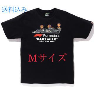 アベイシングエイプ(A BATHING APE)のF1 BAPE BABY MILO PHOTO TEE BLACK【国内正規品】(Tシャツ/カットソー(半袖/袖なし))