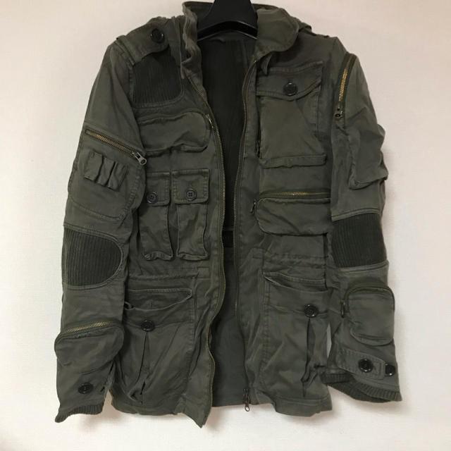 LGB(ルグランブルー)のshare sprit ミリタリージャケット サイズ44 メンズのジャケット/アウター(ミリタリージャケット)の商品写真