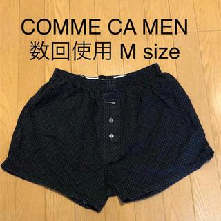 コムサデモード(COMME CA DU MODE)のコムサメン トランクス パンツ 黒(トランクス)