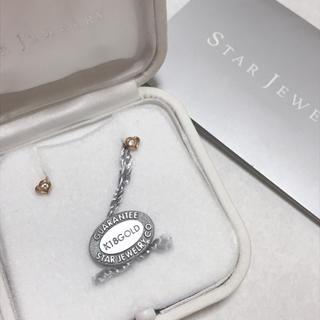 STAR JEWELRY - スタージュエリー ダイヤモンド ピアス K18