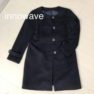 Innowave☆ノーカラーコート☆最終価格(ロングコート)