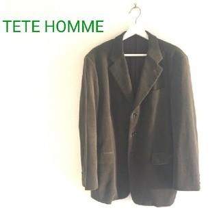 TETE HOMME - TETE HOMME コーデュロイジャケット
