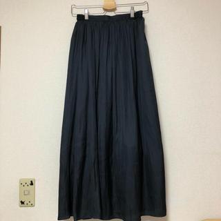 GU - GU ロングスカート プリーツスカート