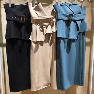 snidel  ハイウェストポンチタイトスカート