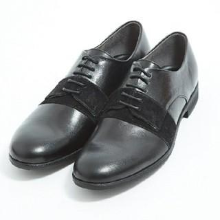 アルフレッドバニスター 別注 切替ラインシューズ モード 単靴 革靴 ドレス(ドレス/ビジネス)