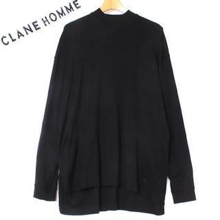 CLANE HOMME UP NECK TOPS クラネオム(Tシャツ/カットソー(七分/長袖))
