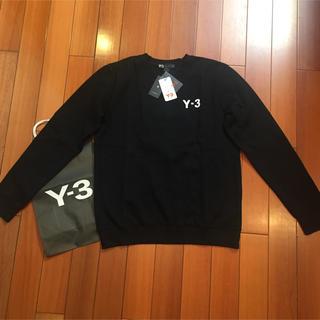 ワイスリー(Y-3)の• Y-3サイズM黒定番スウェット(スウェット)
