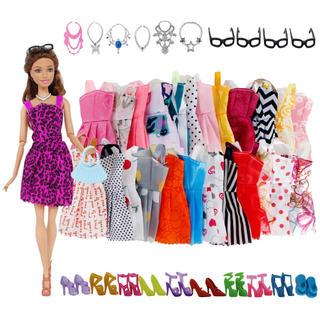 バービー(Barbie)のバービーちゃん32点セット(ぬいぐるみ/人形)