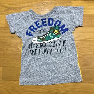 BREEZE - breeze 120 Tシャツ グレー×イエロー