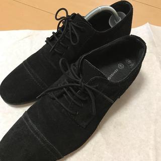 アバハウス(ABAHOUSE)のアバハウス 黒スエード靴(ドレス/ビジネス)