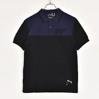 ラフシモンズ(RAF SIMONS)の新作 新品 ラフシモンズ フレッドペリー コラボ ポロシャツ36(シャツ)