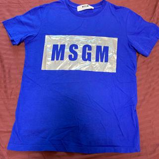 エムエスジイエム(MSGM)のMSGM♡ブルーTシャツ(Tシャツ(半袖/袖なし))