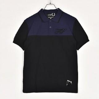 ラフシモンズ(RAF SIMONS)の新作 新品 ラフシモンズ フレッドペリー コラボ ポロシャツ38(シャツ)