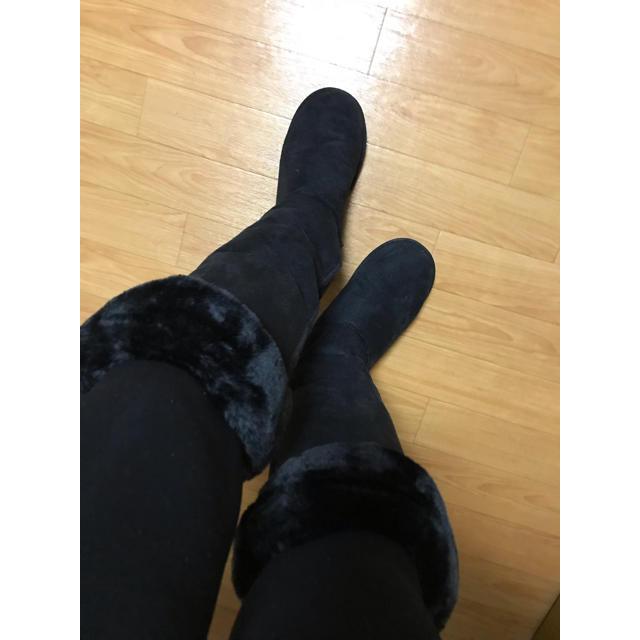ロングムートンブーツ レディースの靴/シューズ(ブーツ)の商品写真