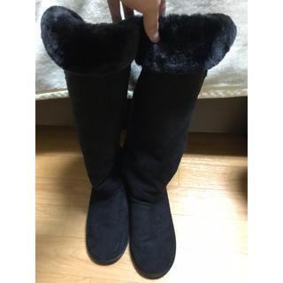 ロングムートンブーツ(ブーツ)