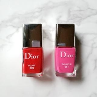 ディオール(Dior)のディオール☆ネイルエナメル(ミニサイズ)(マニキュア)