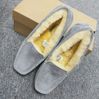 UGG - 23.0cm UGG/アグ/DAKOTA 美品ダコタ/グレー バレエシューズ 靴