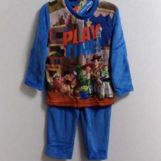 トイストーリー(トイ・ストーリー)の新品 110㎝ ディズニー トイストーリー パジャマ もこもこ 暖か冬用(パジャマ)