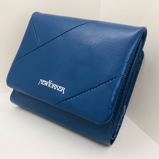 ニューヨーカー(NEWYORKER)のNew Yorker 二つ折り財布 新品 ブルー(財布)