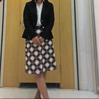 ニューヨーカー(NEWYORKER)の美品✨ニューヨーカー 巻きスカート(ひざ丈スカート)