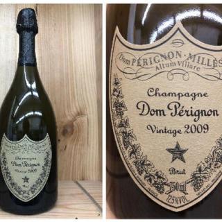 ドンペリニヨン(Dom Pérignon)のドンペリ白 2009(シャンパン/スパークリングワイン)