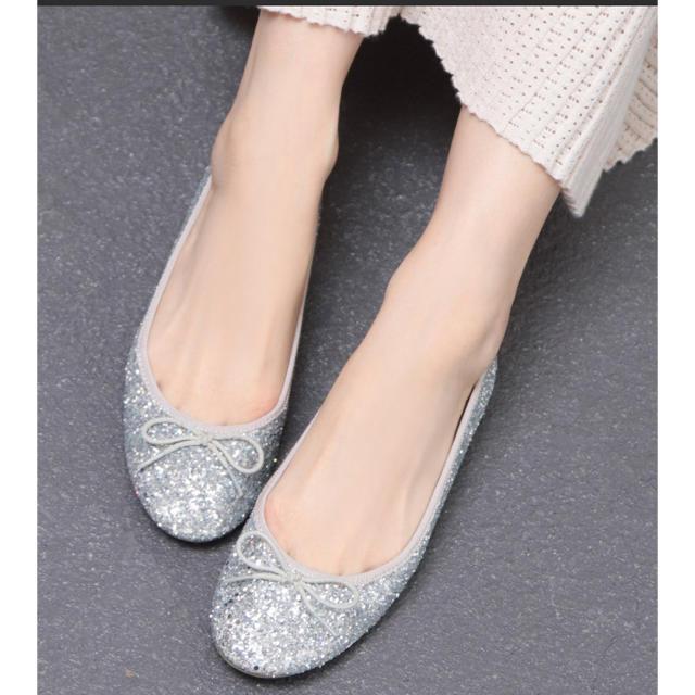 こなれバレエシューズ レディースの靴/シューズ(バレエシューズ)の商品写真