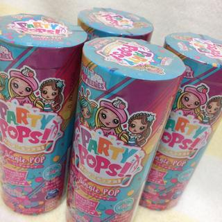 パーリーポップス シングルポップ 4本セット PARTY POPS(キャラクターグッズ)