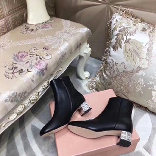 miumiu - miumiu ブーツ 22.5cm-24.5cm